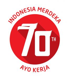 Logo HUT RI ke-70